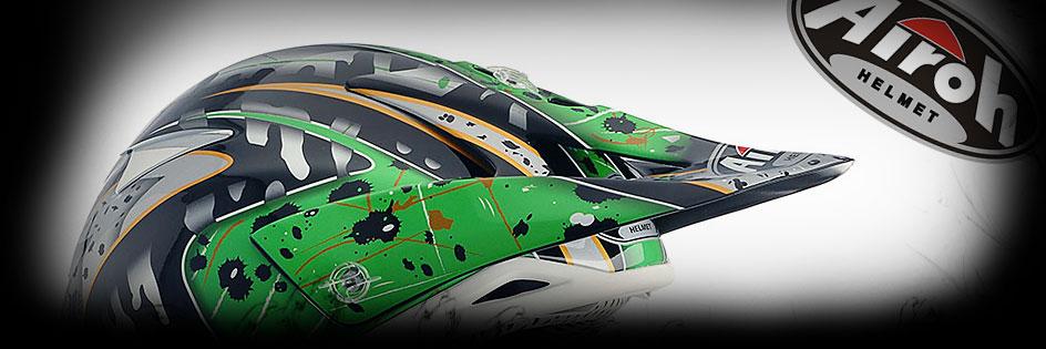 Тийм Грийн - мотоциклети, екипировка и сервиз - AIROH спортни каски - AIROH