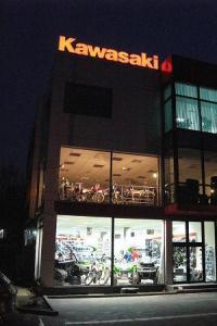 Тийм Грийн - Kawasaki