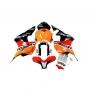 HONDA Спойлери комплект за Honda CBR600RR 2007-2008 REPSOL
