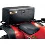 MOOSE UTILITY DIVISION ALUMINUM ATV BOXES REAR TRUNK CARGO BOX BLACK