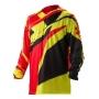 ACERBIS Тениска Profile 17 червен/жълт