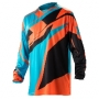 ACERBIS Тениска Profile 17 оранжев/син