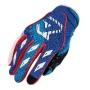 ACERBIS Ръкавици MX1 син/червен