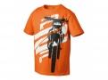 KTM Детска тениска KIDS RADICAL TEE КТМ