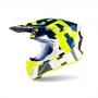AIROH  Каска TWIST 2.0 FRAME BLUE GLOSS AIRON